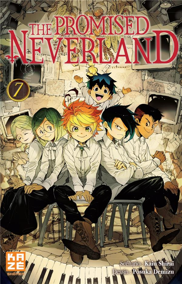 THE PROMISED NEVERLAND T07 DEMIZU/SHIRAI KAZE
